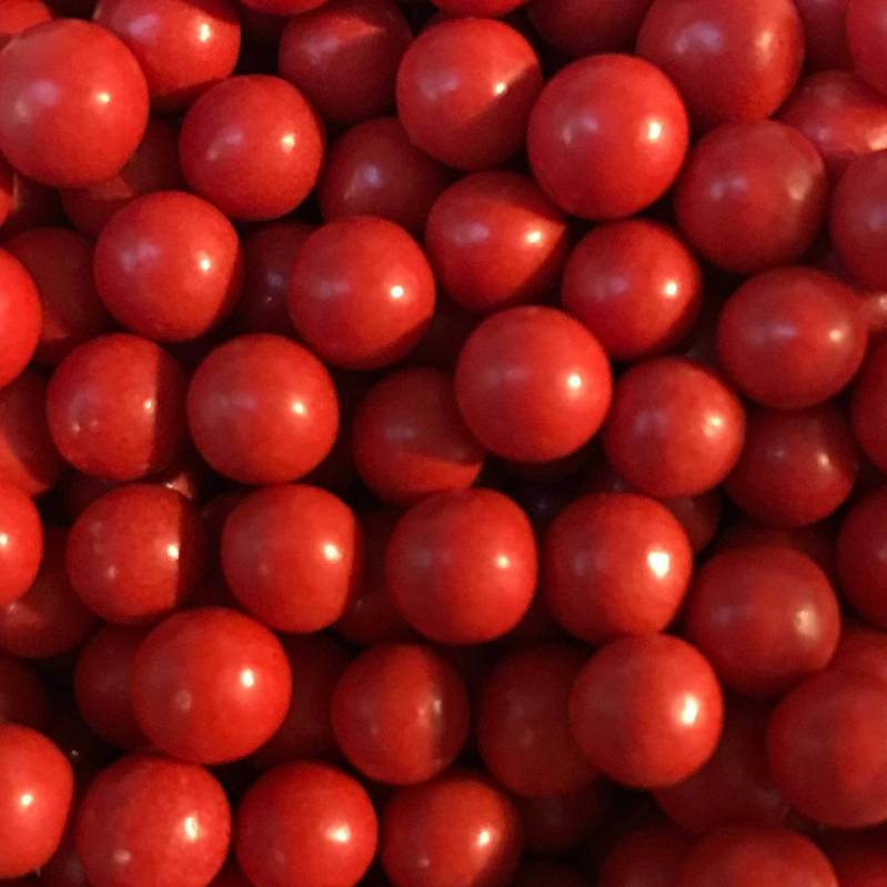 Choco pearls red small