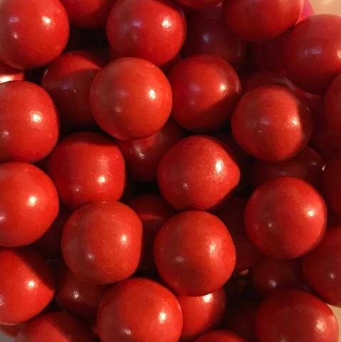 Choco pearls red large
