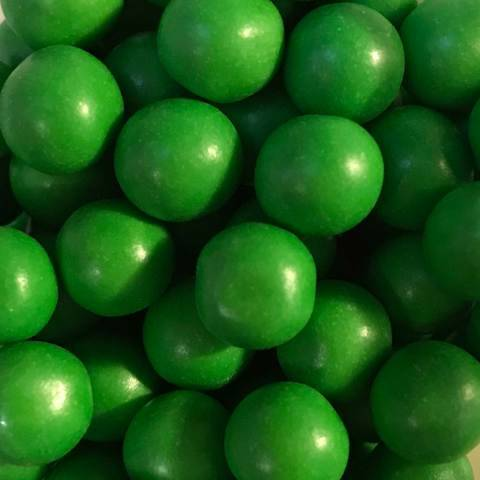Choco pearls green large