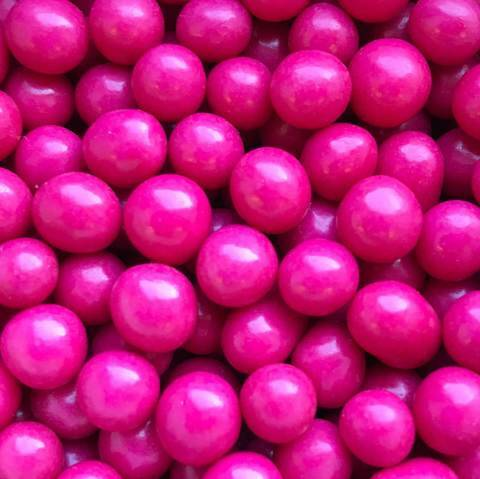 Choco pearls hot pink small