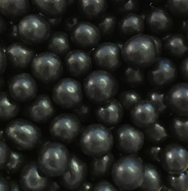 Choco pearls black small