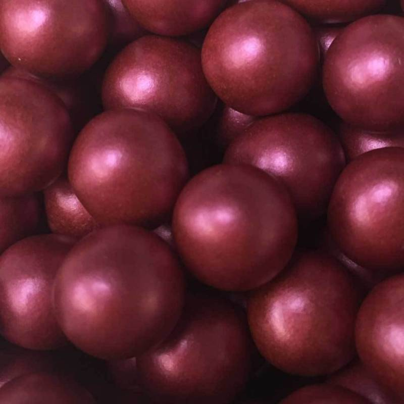 Choco pearls bordeaux large