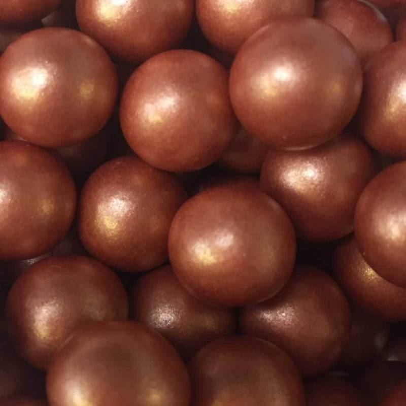 Choco pearls copper large*