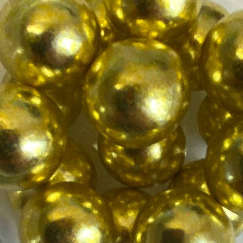 Choco pearls gold glimmer extra large