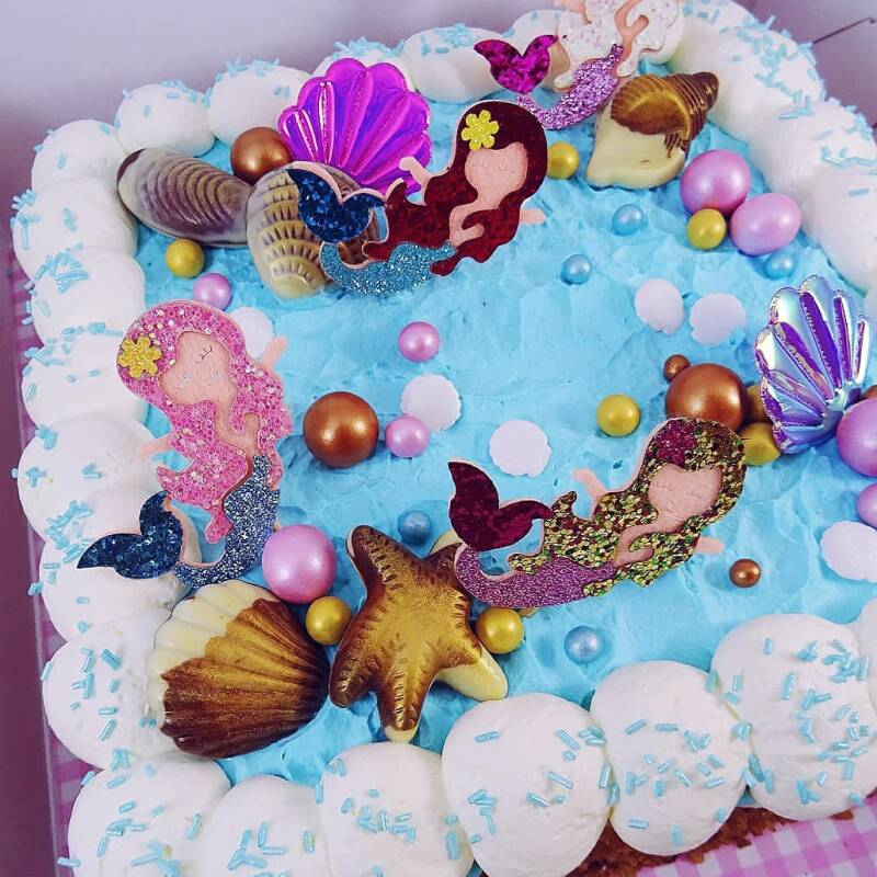 Mermaid toppers