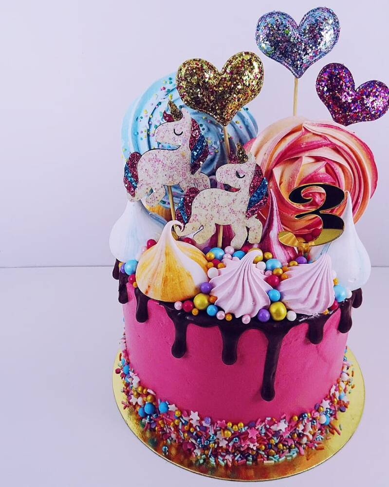 Unicorn toppers