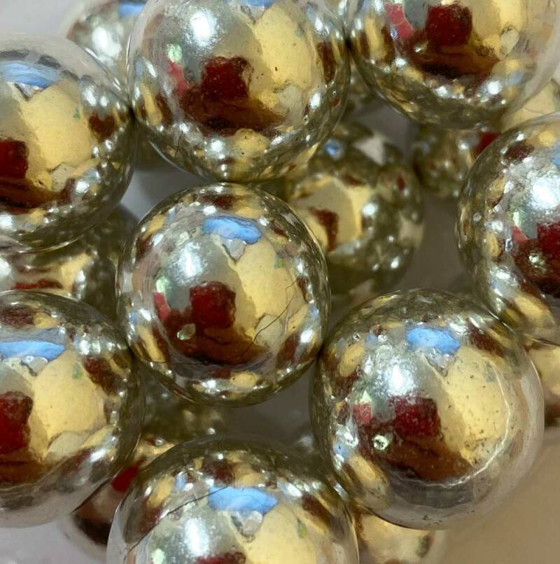 Choco pearls silver glimmer extra large