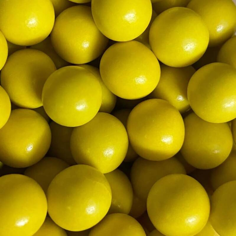 Choco pearls yellow large*