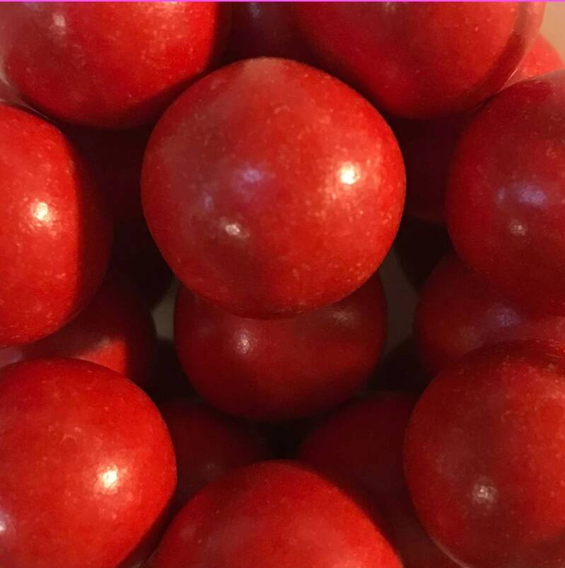 Choco pearls red extra large