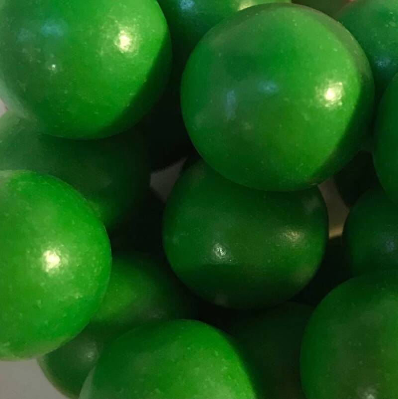 Choco pearls green extra large