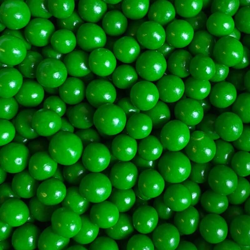 Pearls green polished