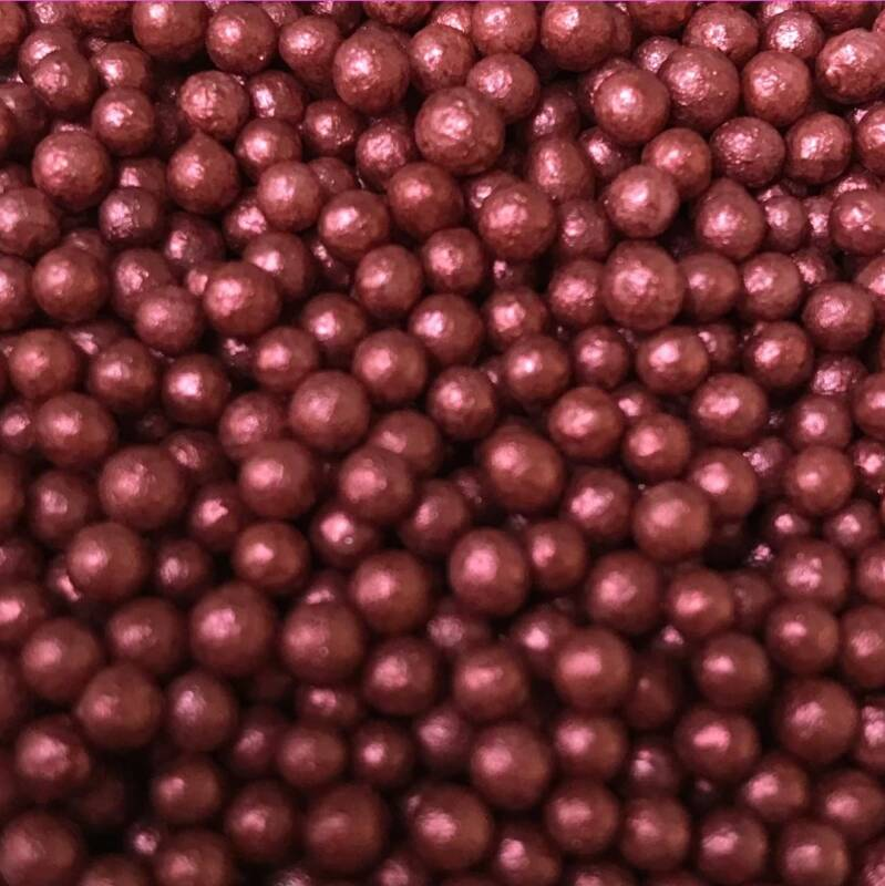 Pearls bordeaux glimmer