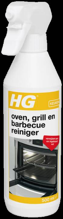 HG oven, grill & bbq reiniger