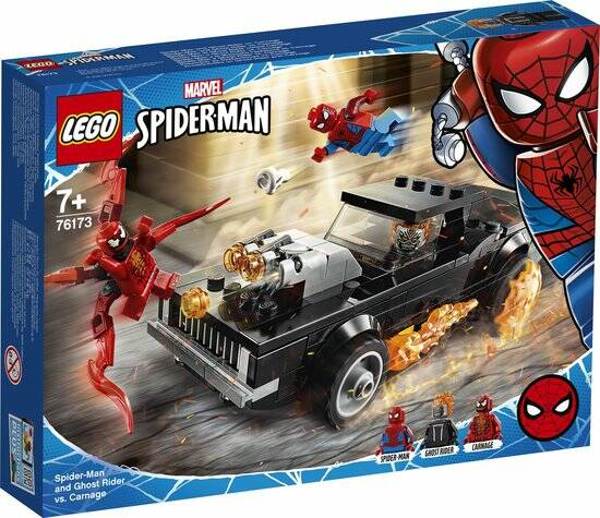 LEGO Spider-Man en Ghostrider vs. Carnage - 76173