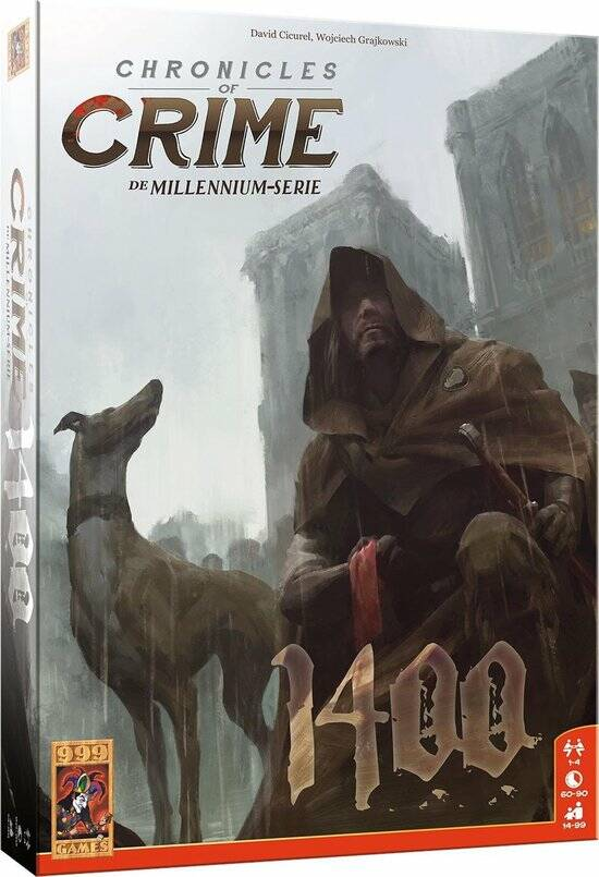 Chronicles of Crime: 1400 Breinbreker Bordspel