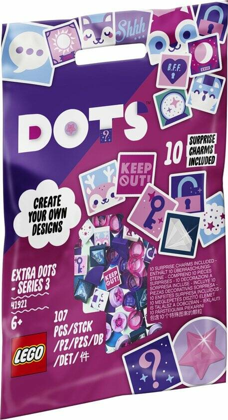 LEGO DOTS Extra DOTS Serie 3 - 41921