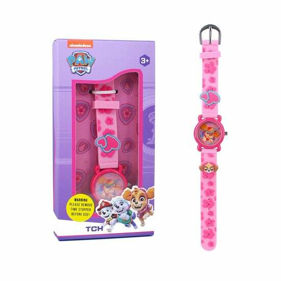 Paw Patrol Kids Time 3D Girls Horloge