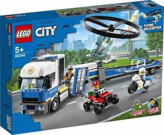 LEGO City Politie Helikoptertransport - 60244