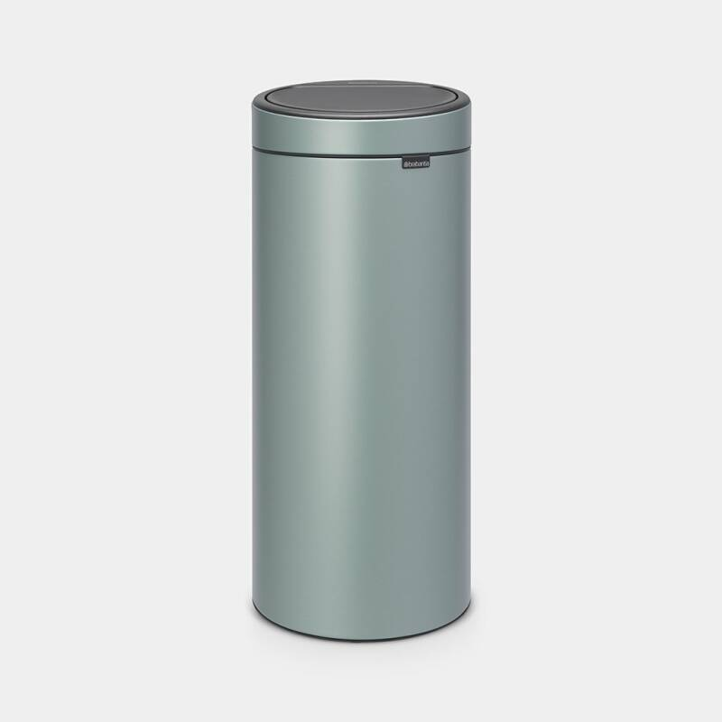 TOUCH BIN NEW 30 liter - Metallic Mint
