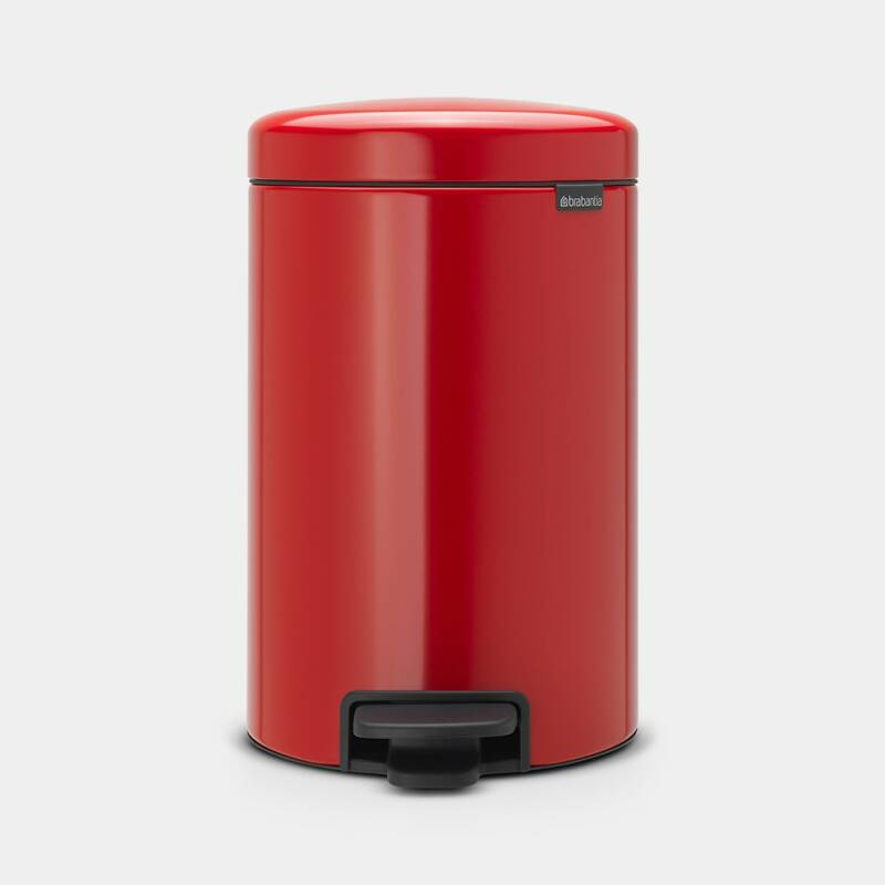 NEWICON PEDAALEMMER 12 liter - Passion Red