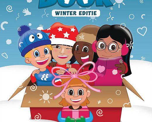 Happy Kids Massage boek herfst en winterboek