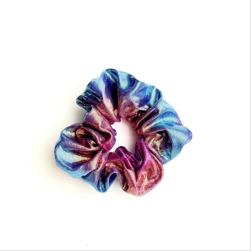 scrunchie- holo paars