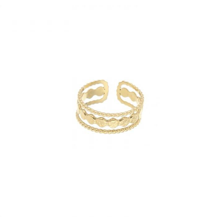 ring- glam goud