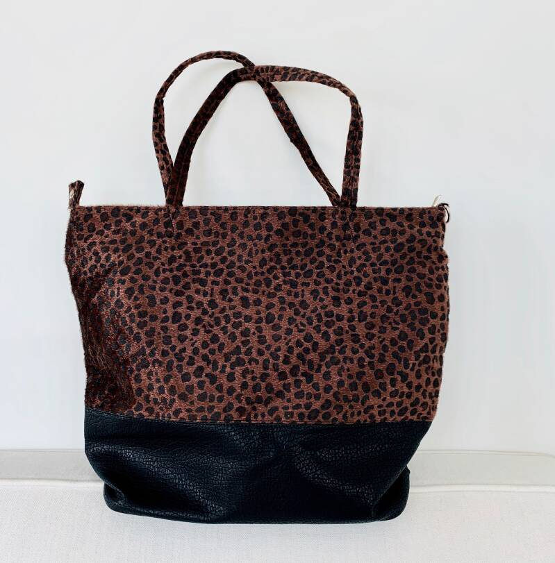 Panter shopper / weekendtas