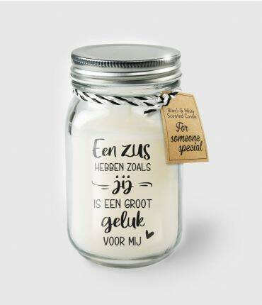 Black & White scented candles - Zus