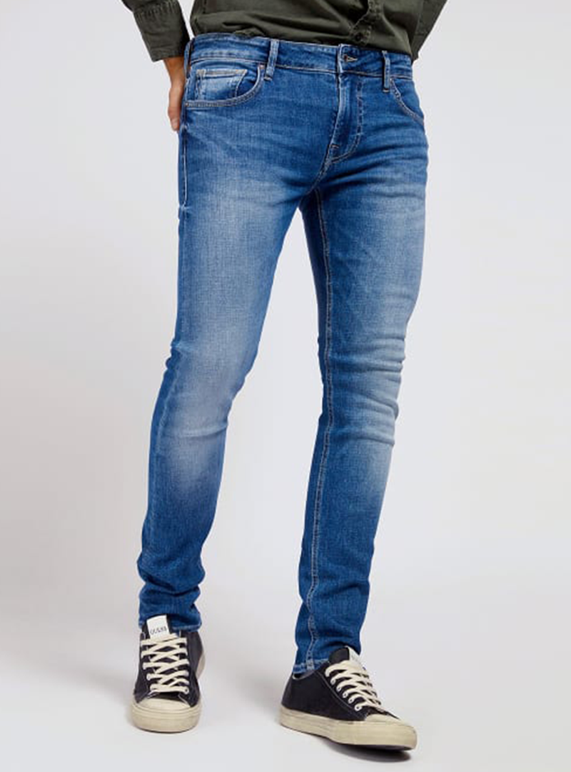 GUESS JEANS MIAMI DONKERBLAUW