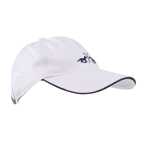 HV SOCIETY BASEBALL CAP WHITE