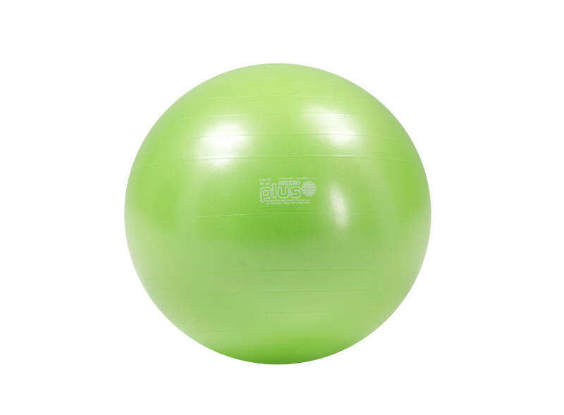 Gymnic fitnessbal Plus 55 cm lime groen