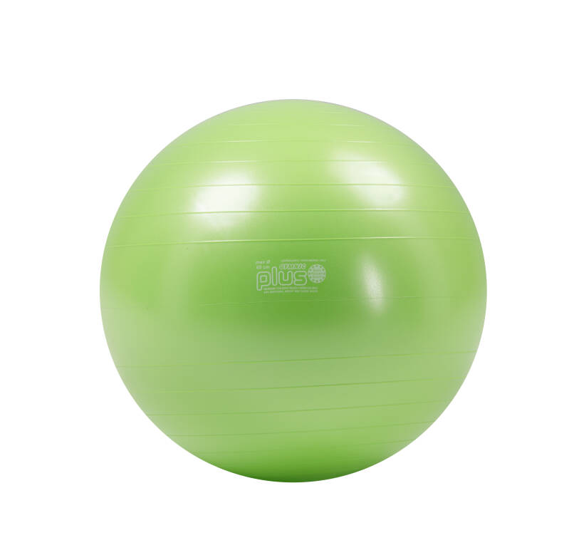Retourgoed | Gymnic fitnessbal Plus 65 cm lime groen