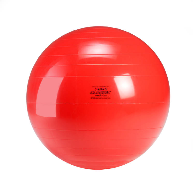 Gymnic fitnessbal Classic 55 cm rood