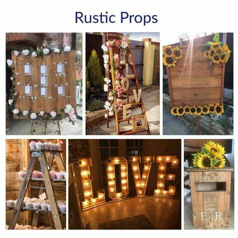 Rustic Props - For hire only