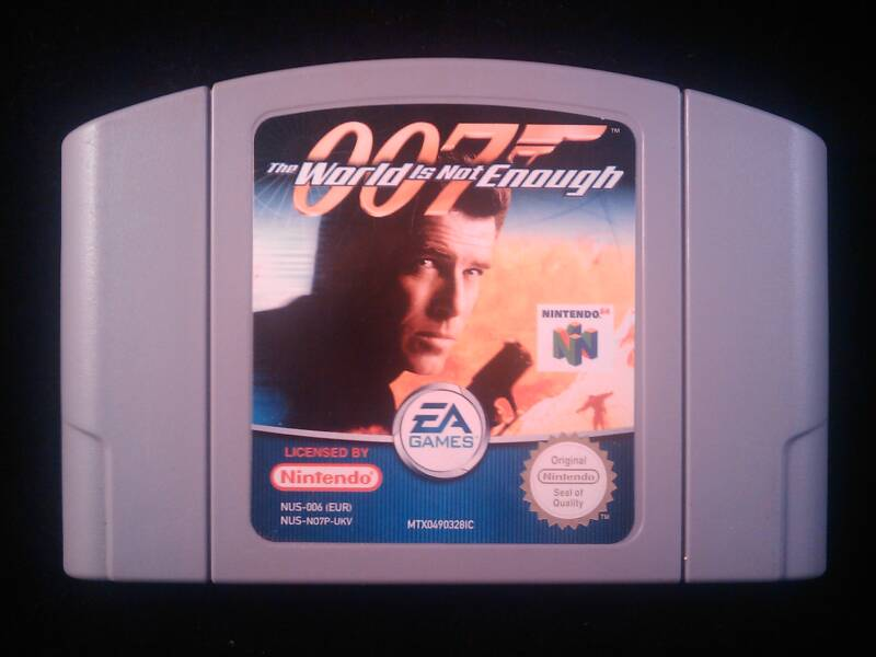 007: The World is Not Enough - N64