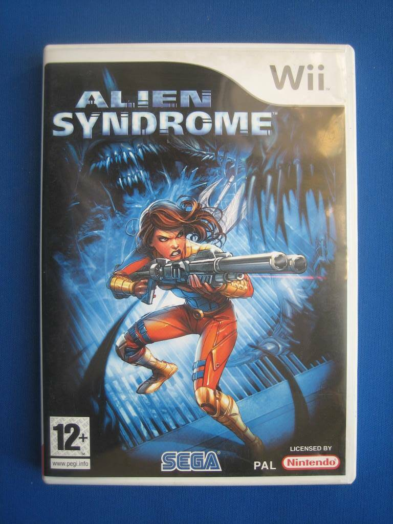 Alien Syndrome-Wii