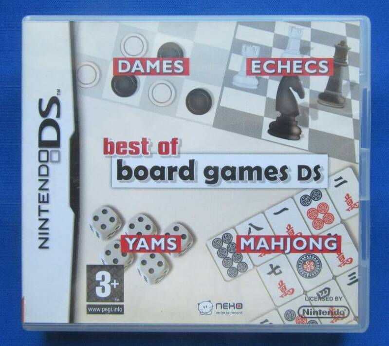 Best of Board Games DS