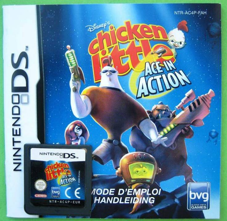 Chicken Little Ace in Action - DS