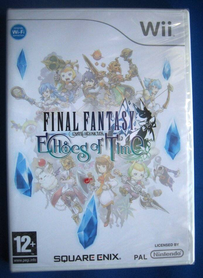 Final Fantasy Crystal Chronicles Echoes of Time - Wii (NEW SEALED)