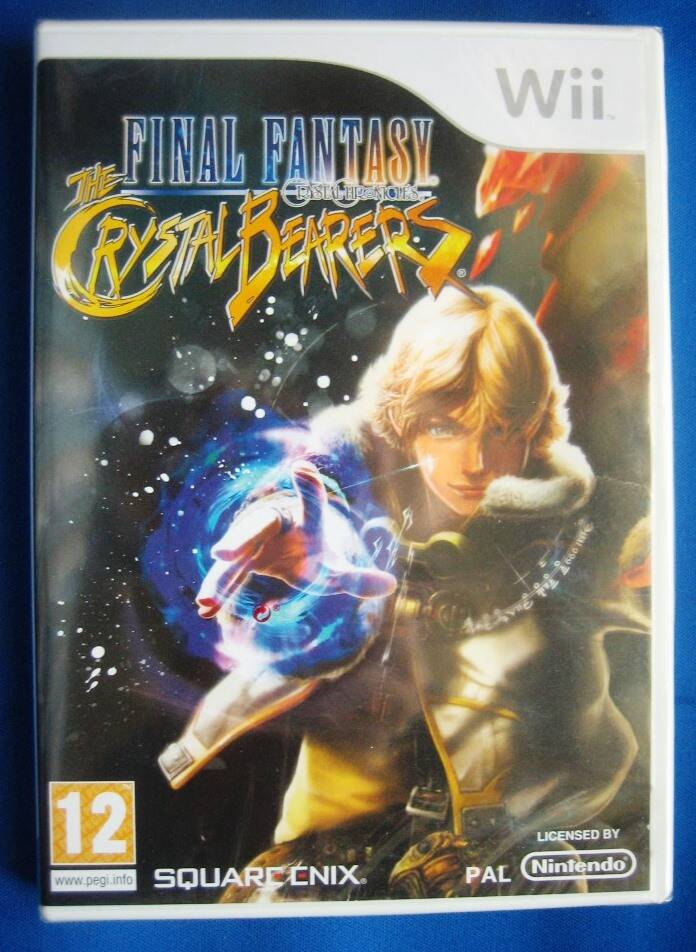 Final Fantasy Crystal Chronicles The Crystal Bearers (NEW SEALED) - Wii