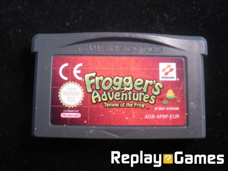 Frogger's Adventures Temple of the Frog - GBA