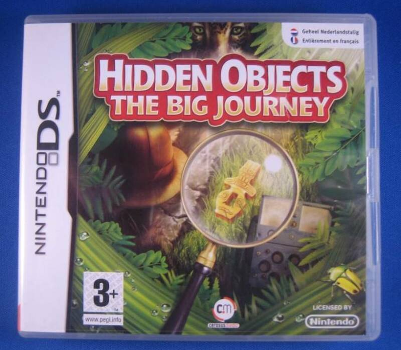 Hidden Objects: The Big Journey - DS