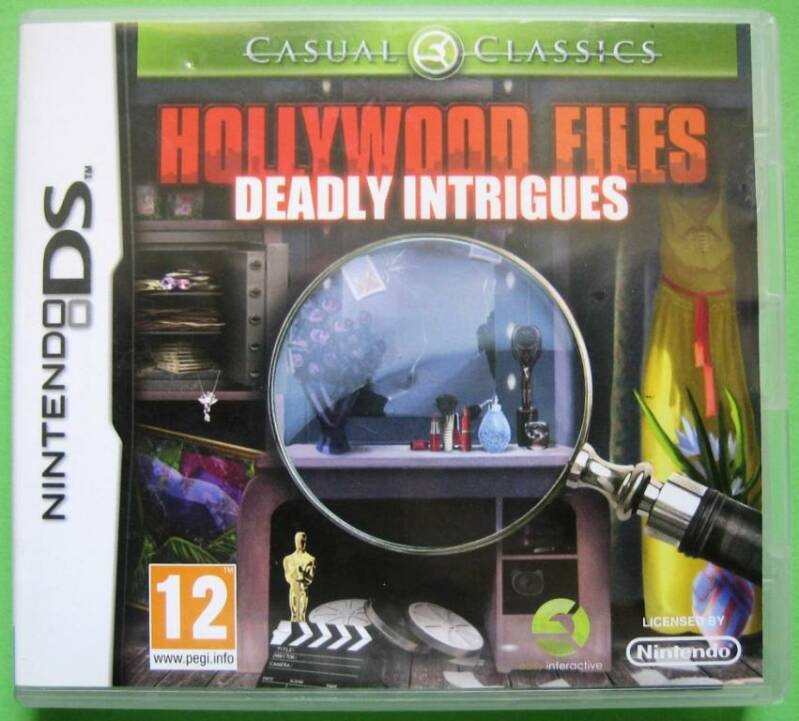 Hollywood Files: Deadly Intrigues - DS