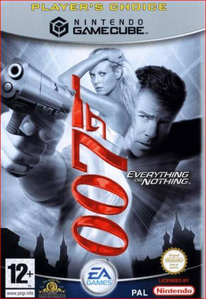 James Bond 007 - Everything or Nothing (Player's Choice) - NGC