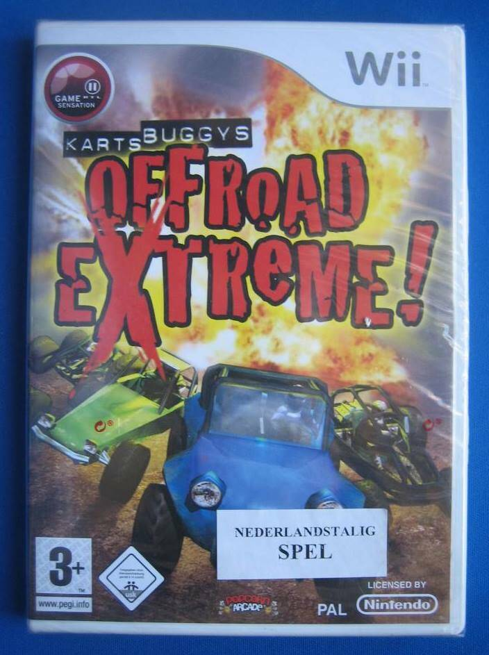 Karts Buggys Offroad Exteme! (NEW SEALED) - Wii