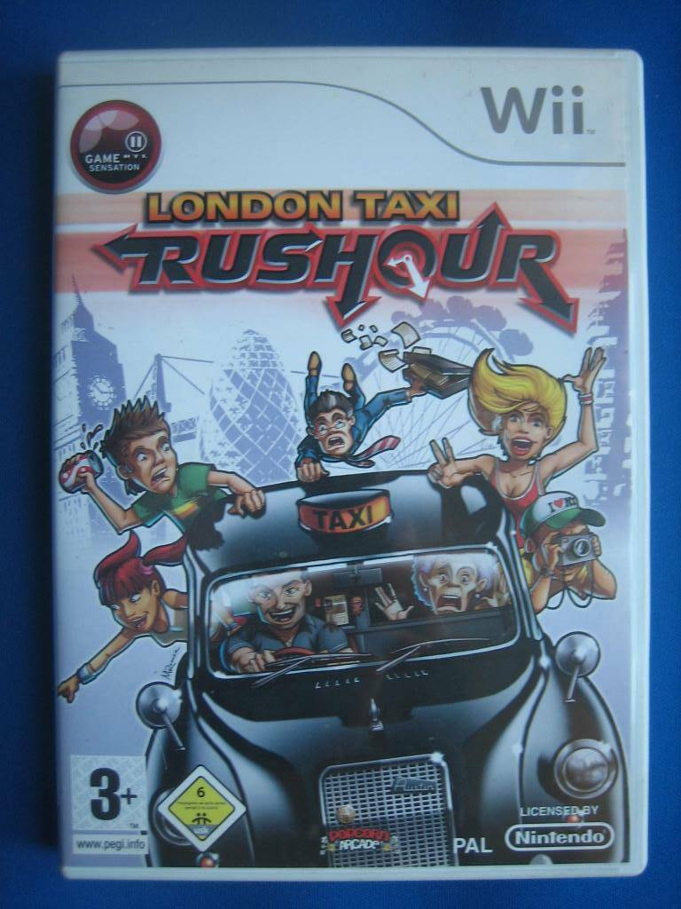 London Taxi Rushour - Wii