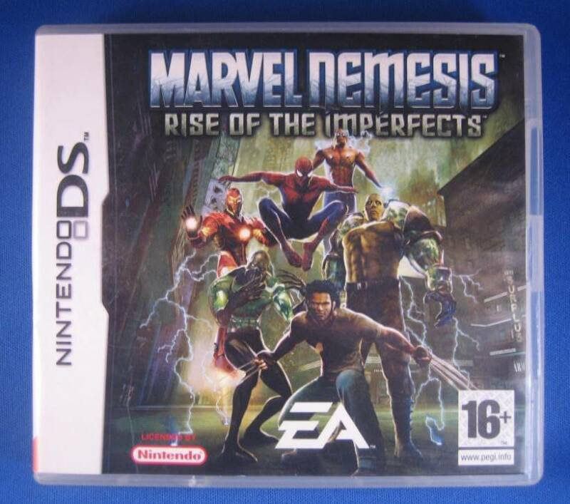 Marvel Nemesis: Rise of the Imperfects - DS