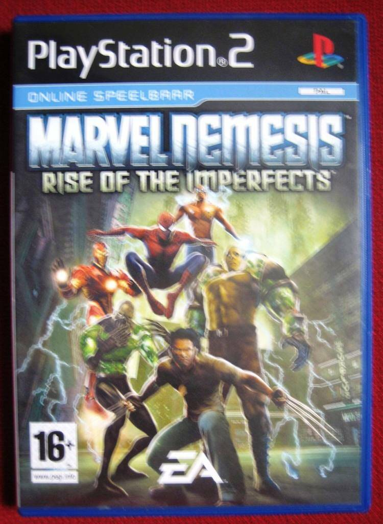Marvel Nemesis Rise of the Imperfects - PS2