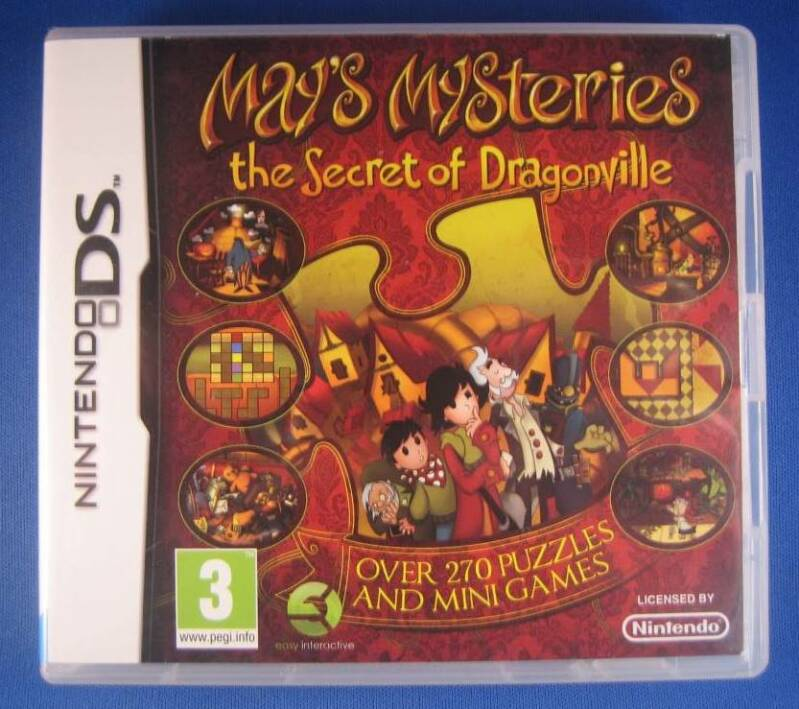 May's Mysteries: The Secret of Dragonville - DS